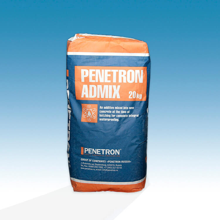 Пенетрон Адмикс (20 кг) крафт-мешок